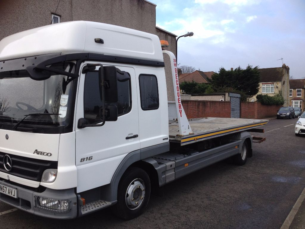 2008 MERCEDES ATEGO RECOVERY TILT&SLIDE WITH SPEC LIFT