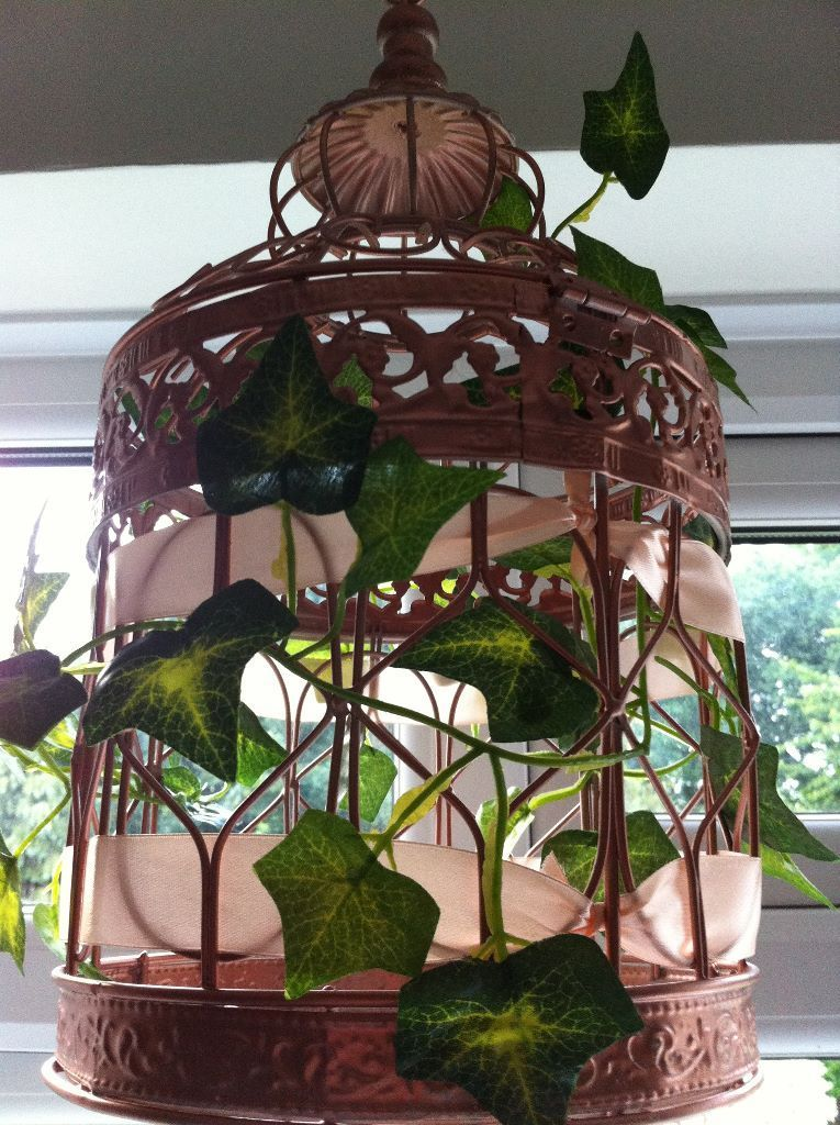 Bird Cage Lanterns x10 Wedding Decorations