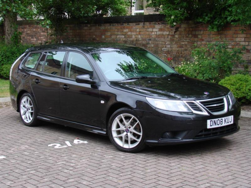 EXCELLENT DIESEL ESTATE! 2008 SAAB 9-3 1.9 TiD 150 AUTO VECTOR SPORT SPORTWAGON