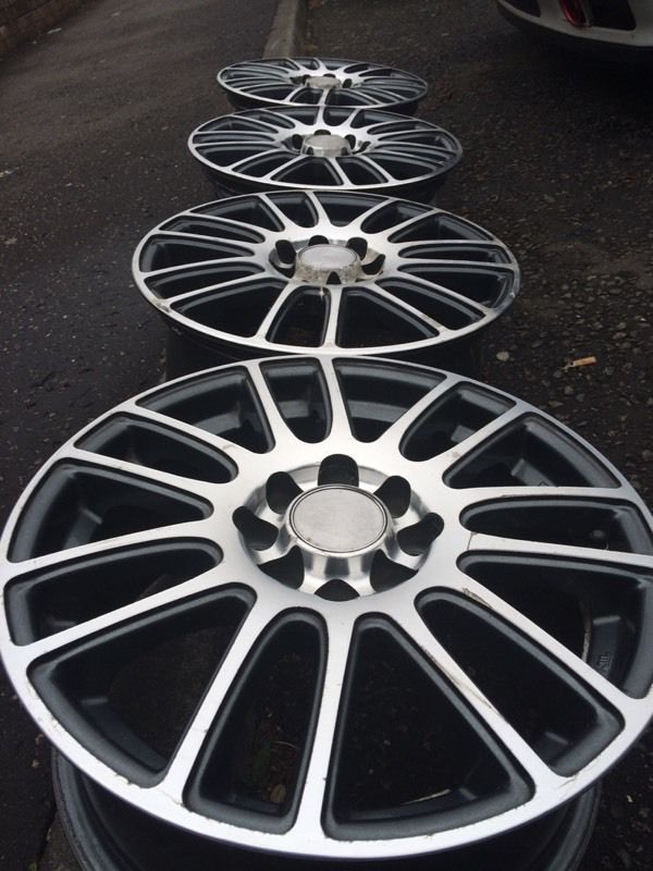 "15"" multifit alloys! 4x100/4x108"