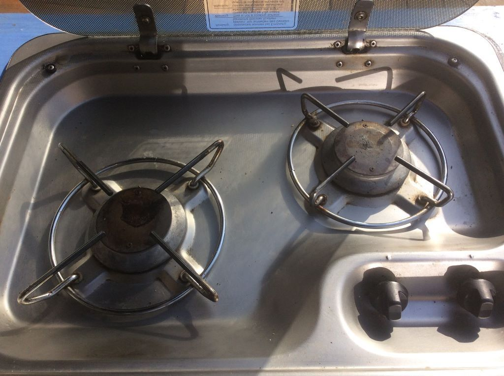 Gas hob for campervan