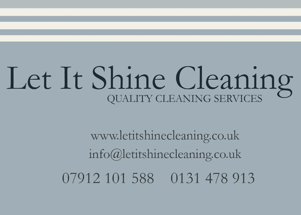 Quality cleaning services with great references.