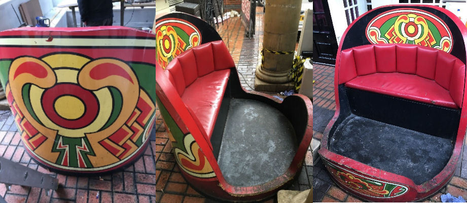 Fairground Funfair Waltzer Car Seat Prop