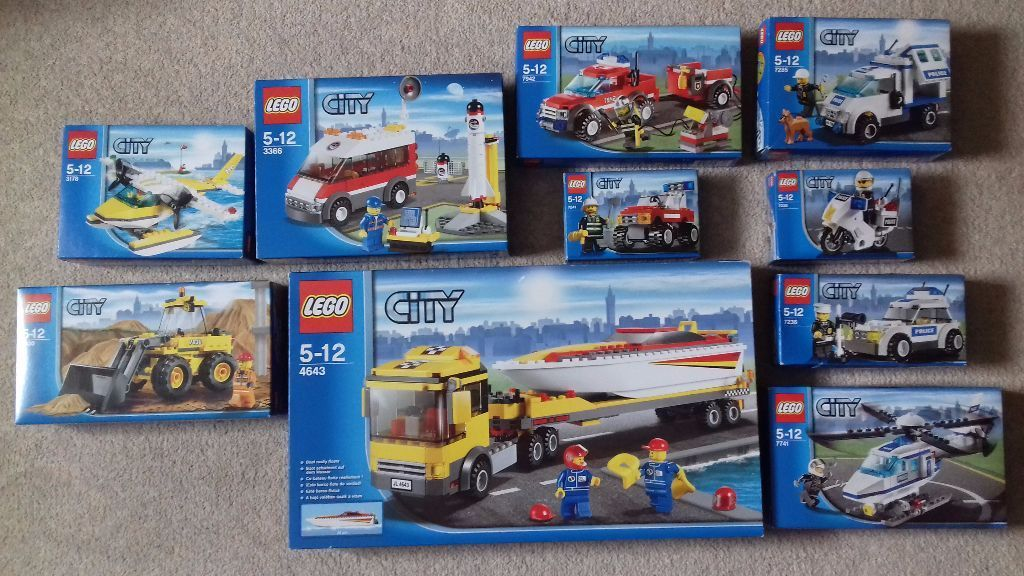 Large Lego Collection and Mega Block Pirate Ship