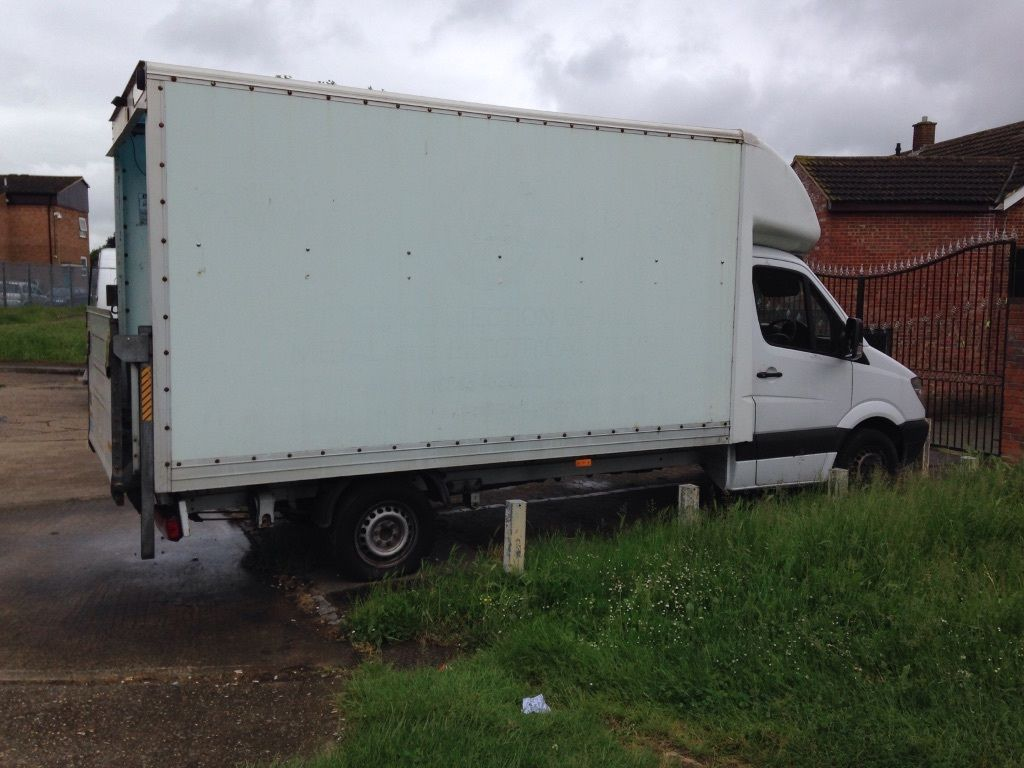 Luton body/van body/truck body,Mercedes sprinter body