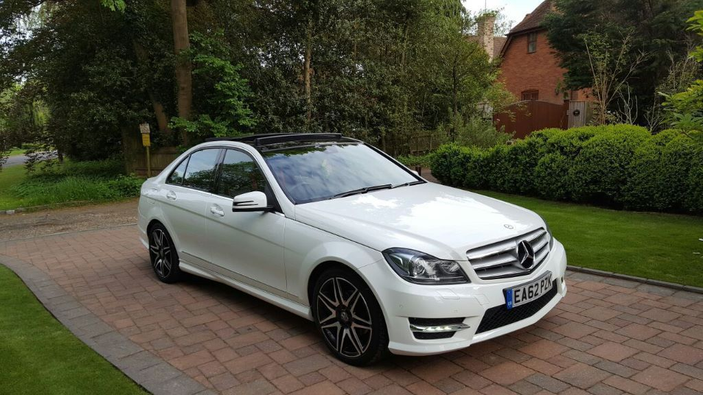 Mercedes C220 CDI BlueEFFICIENCY AMG Sport Plus 7G-Tronic Plus Saloon + (2012/62) + Panoramic roof +