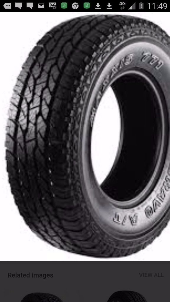Wanted - Tyres With At Least 6mm Tread In Good Condition Size 215 x 55 x 16 Only