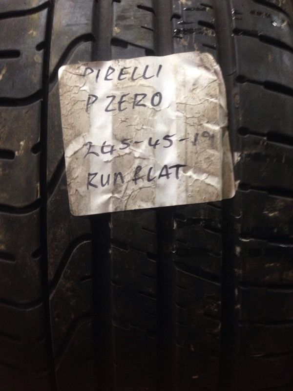 245-45-19 part worn tyres, best treads, fully tested, call Josh or Paul on 07557045695