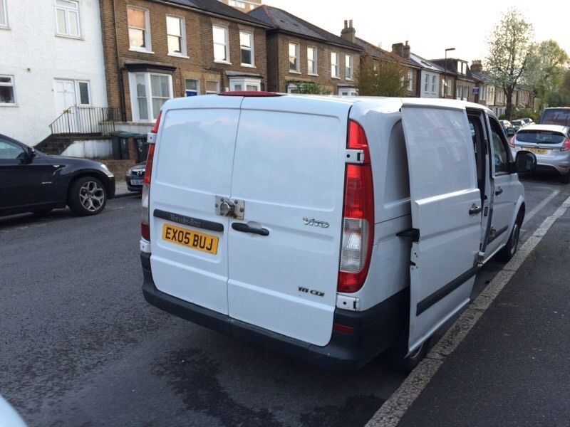 MERCEDES VITO YEAR 2005 LOW MILEAGE 1 OWNER FROM NEW READY TO WORK