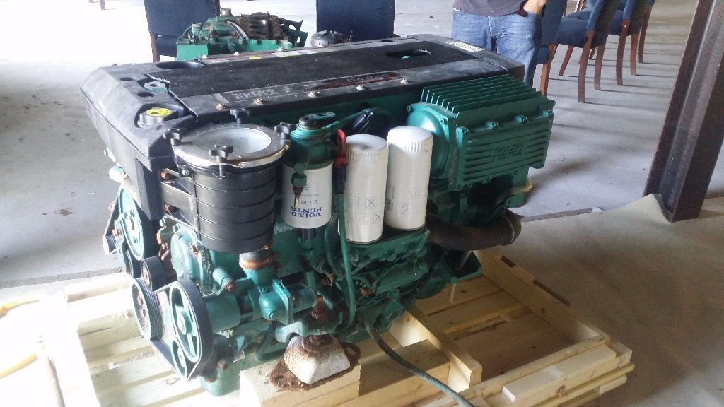 Volvo Penta D4 225 diesel engine package DPH outdrive ready to fit