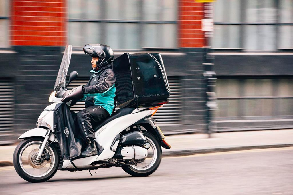 Scooter Couriers Wanted - Deliveroo Watford