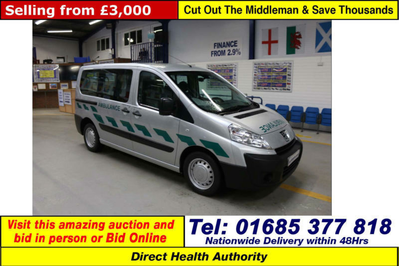 2010 - 10 - PEUGEOT EXPERT 1.6HDI 5 SEAT DISABLED ACCESS BUS (GUIDE PRICE)