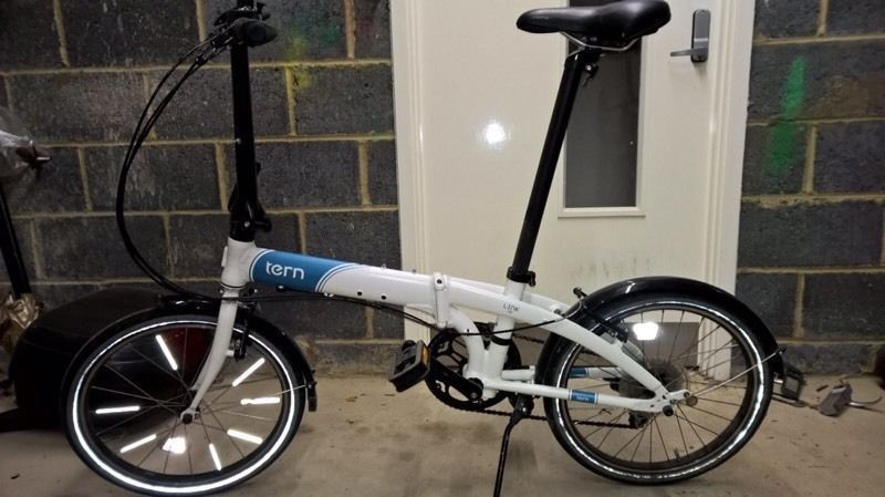 Tern Link D8 Folding Bike - Perfect condition