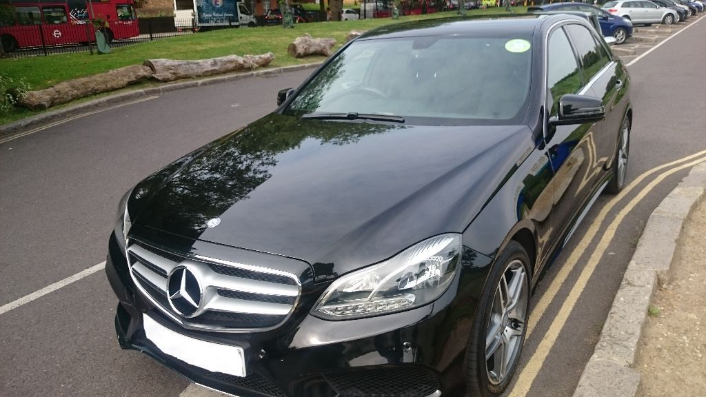 EXCELLENT 2014 Plate UBER & CHAUFFEURING READY PCO REGISTERED MERCEDES E CLASS , AVAILABLE FOR HIRE