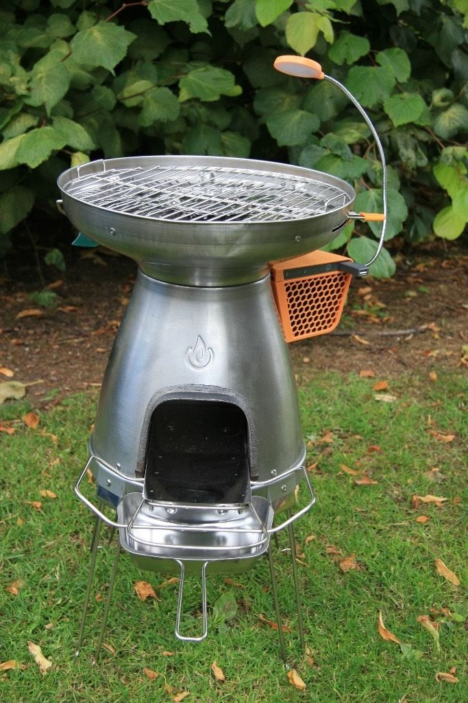 BioLite Base Camp revolutionary stove