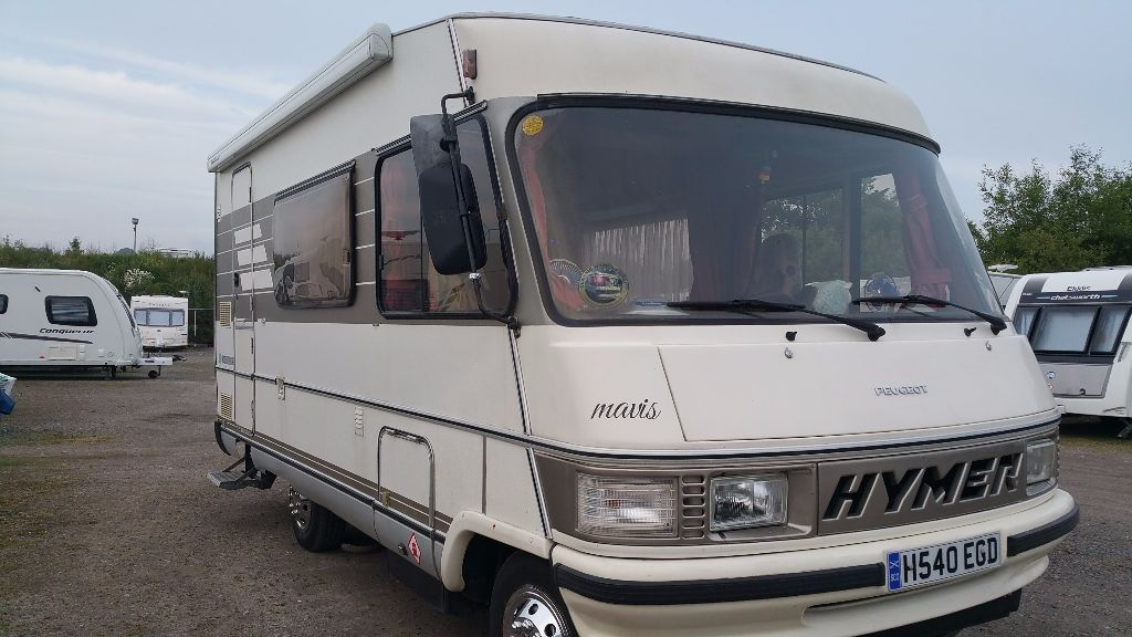 hymer b544 1991 in beautiful condition and running perfectly