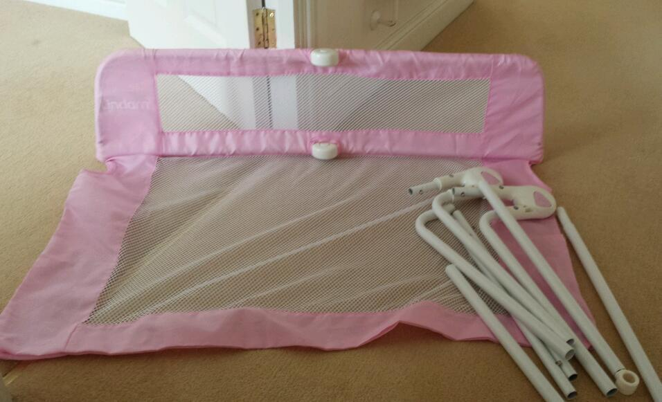 Lindam Pink bed rail