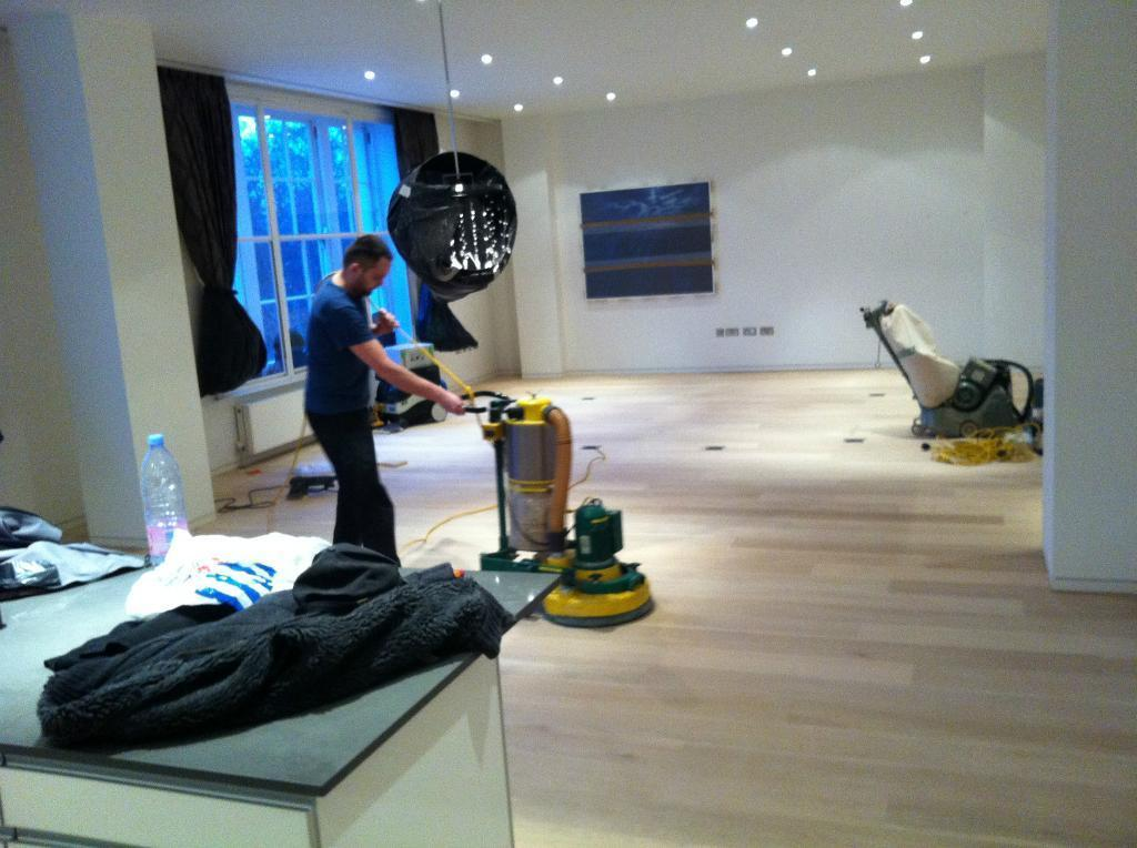 Wood Floor Supply Sanding and Renovation Services