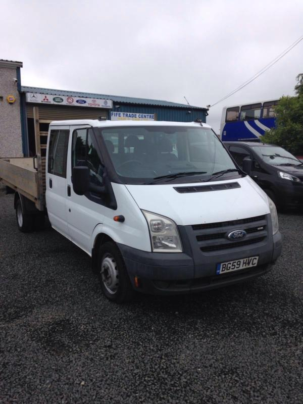 Ford Transit 2.4TDCi Duratorq 100PS lwb drop side 2009 59 reg