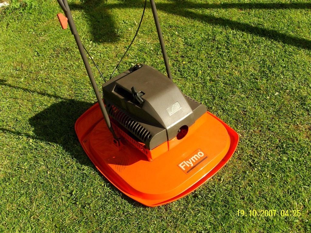 Flymo petrol Lawnmower