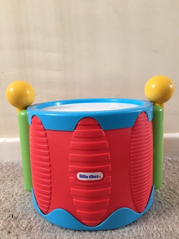 Little tikes tap a tune drum toy