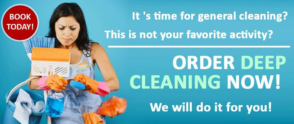 FRESH LOOK- cleaning company, end tenancy/deep cleaning, spring cleaning, regural domestic cleaning