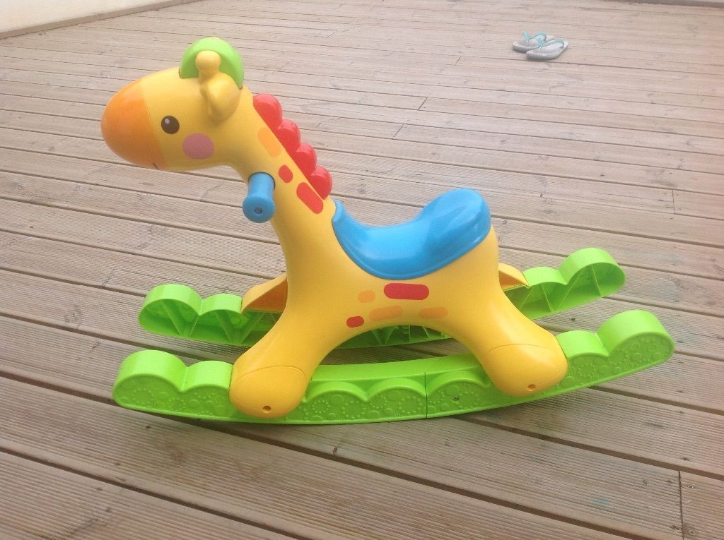 Fisher Price Fisher-Price Rockin' Tunes Giraffe