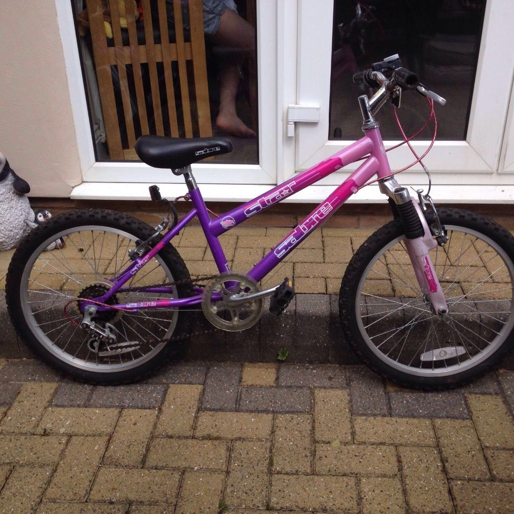 Girls bike age 8-12 years