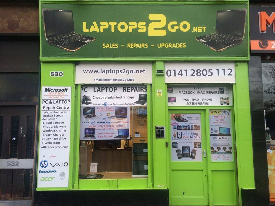 LAPTOPS2GO - LAPTOP PC TABLET SMARTPHONE repairs -Honest Professional Service