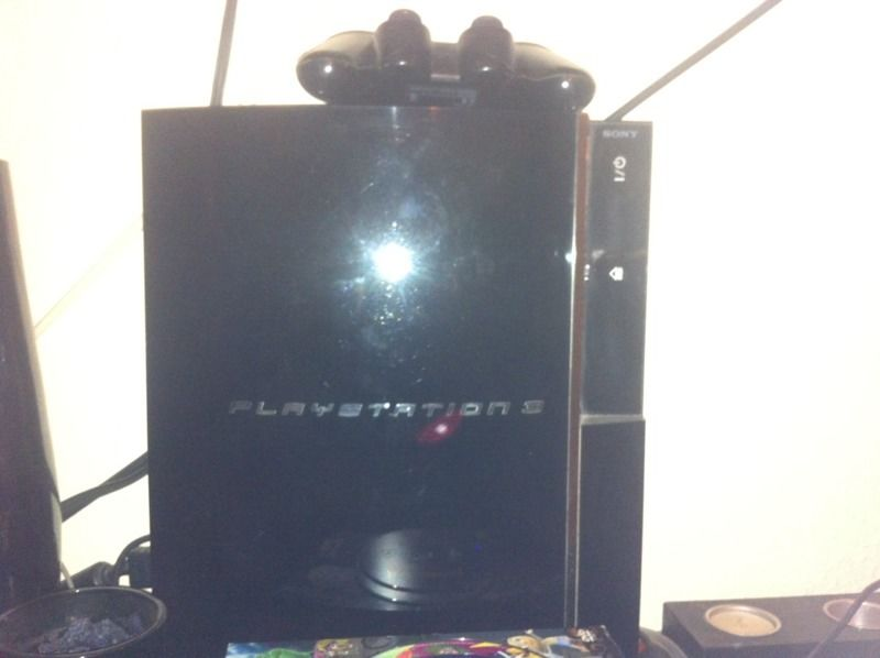Ps3 with two wireless controllers cech303