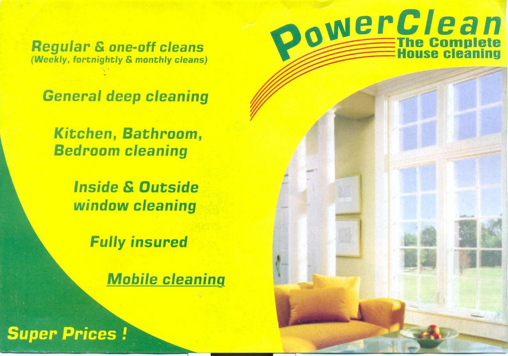 If you need a Domestic Cleaner I can help!