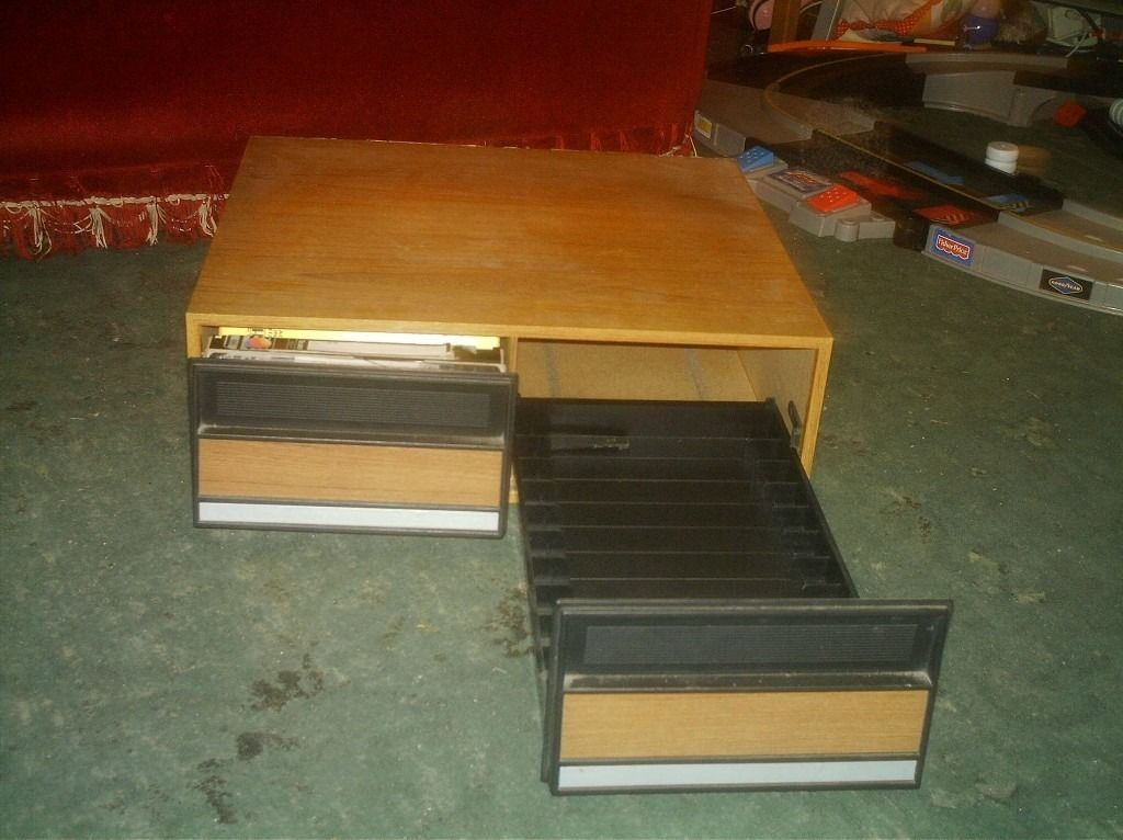 Storage with two drawers