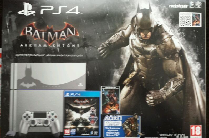 Batman ps4 with 20+ Games and loads of DLC.
