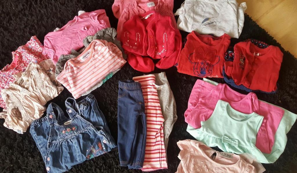 6-9 months bundle of girls clothes