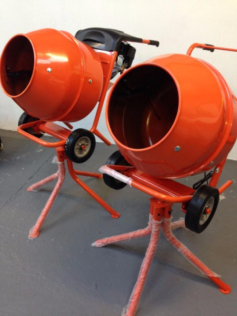 NEW 3HP PETROL 1/2 BAG CEMENT MIXERS , HD GEARBOX DRIVEN ,BALLYNAHINCH, FREE NI DELIVERY