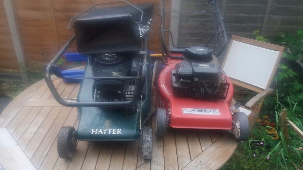 Hayter & mountfield lawnmowers