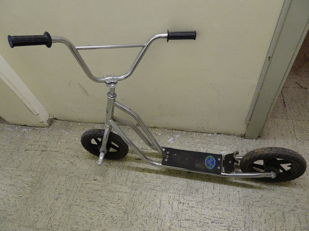 Scooter for free