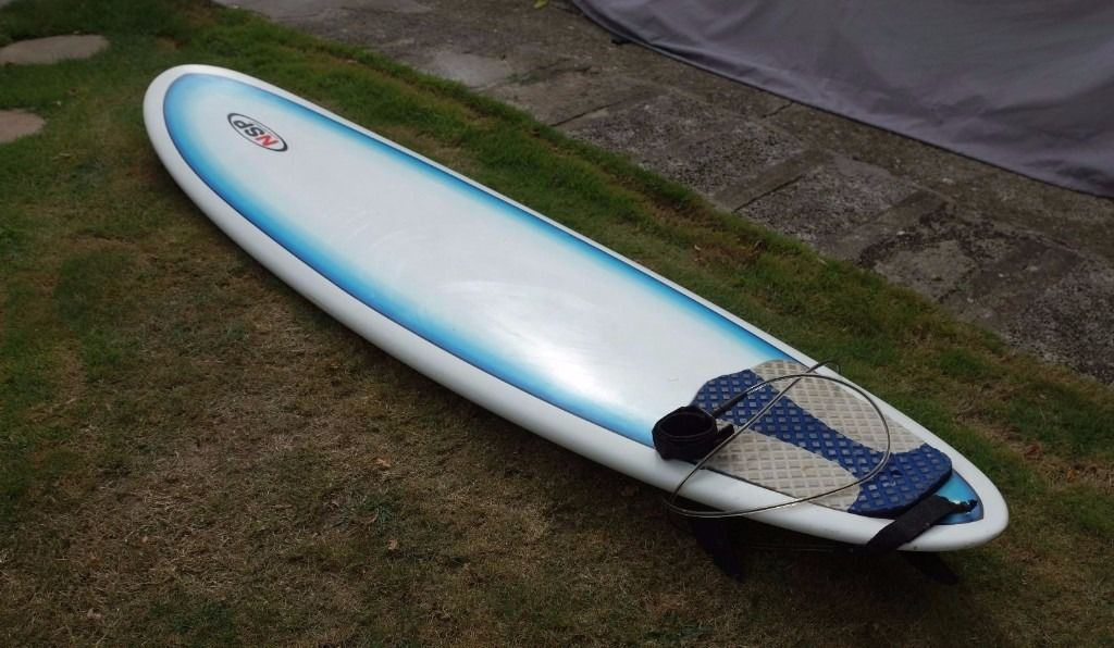 "(SOLD) NSP New Surf Project Mini Mal 7'6"" Surfboard"