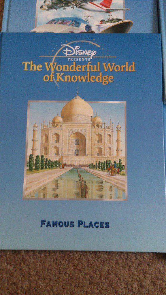 Disney The Wonderful World of Knowledge