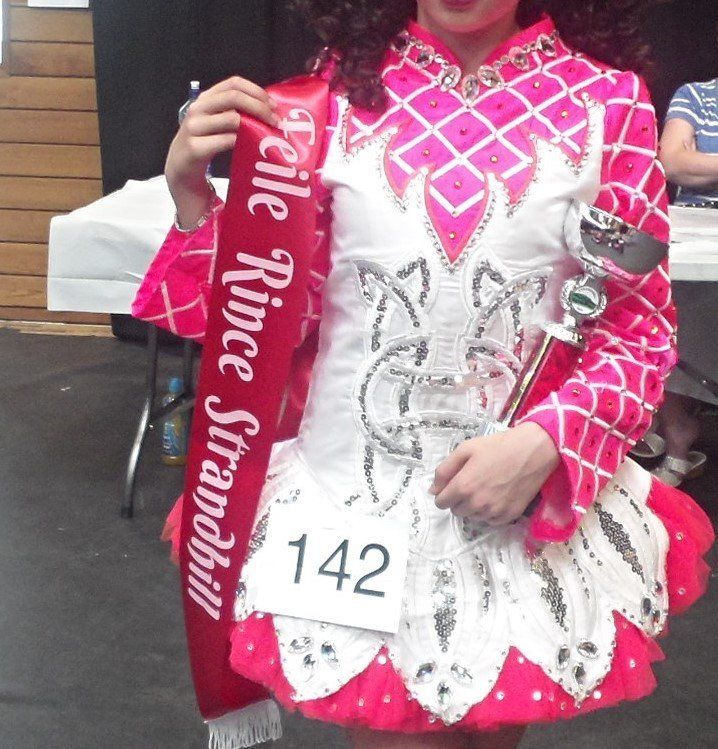 Irish dance Dress in perfect condition only wore a few times