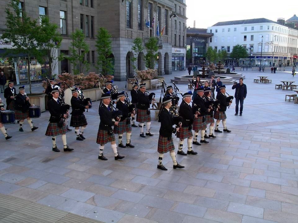 Drummers wanted for the Mains of Fintry Pipe Band, Dundee