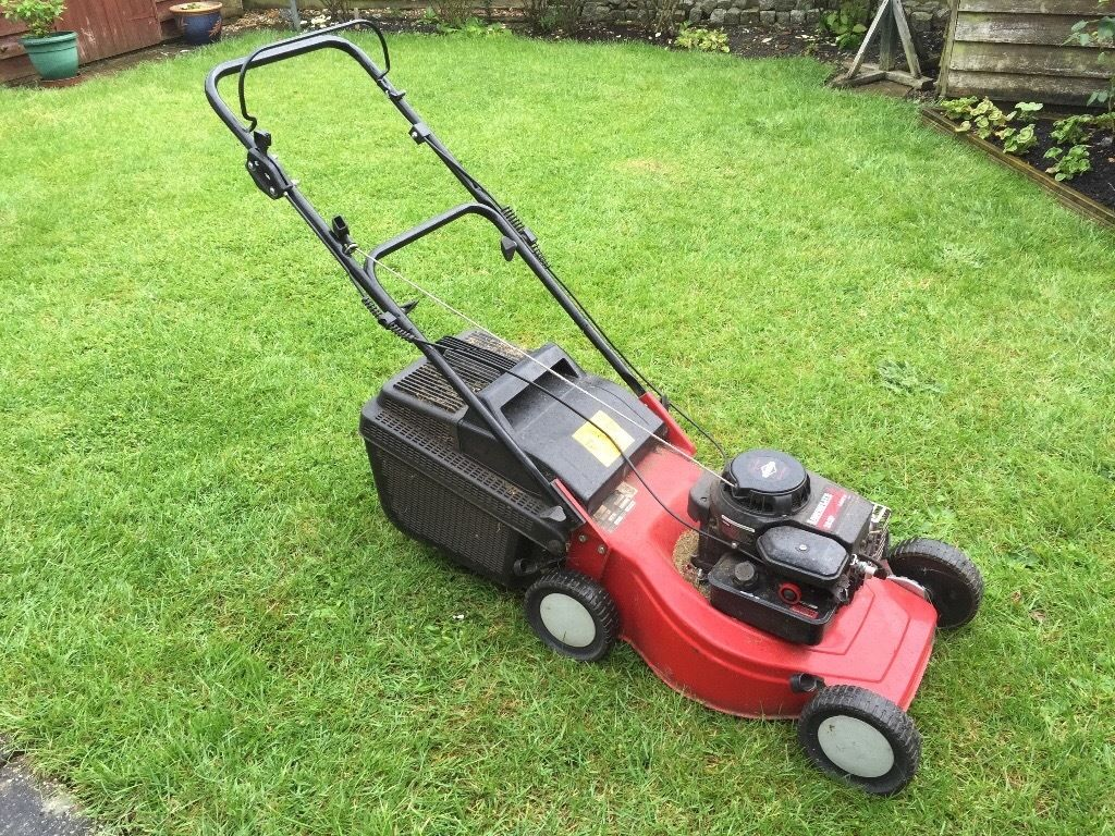 Lawnflite petrol mower