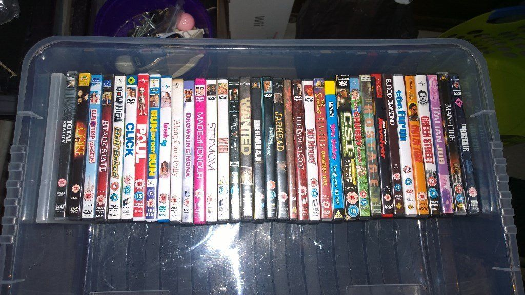 36 DVD'S (group buy)