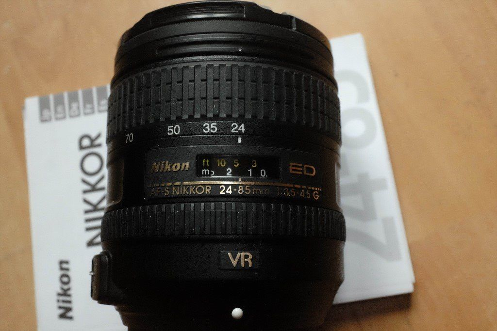 Nikon 24-85mm 3.5-4.5 VR-VERSION!!!! lens (36-128mm on DX)