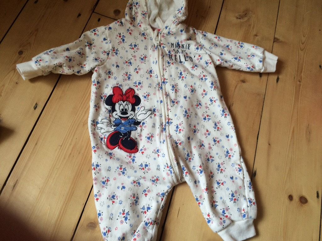 Minnie Mouse baby grows