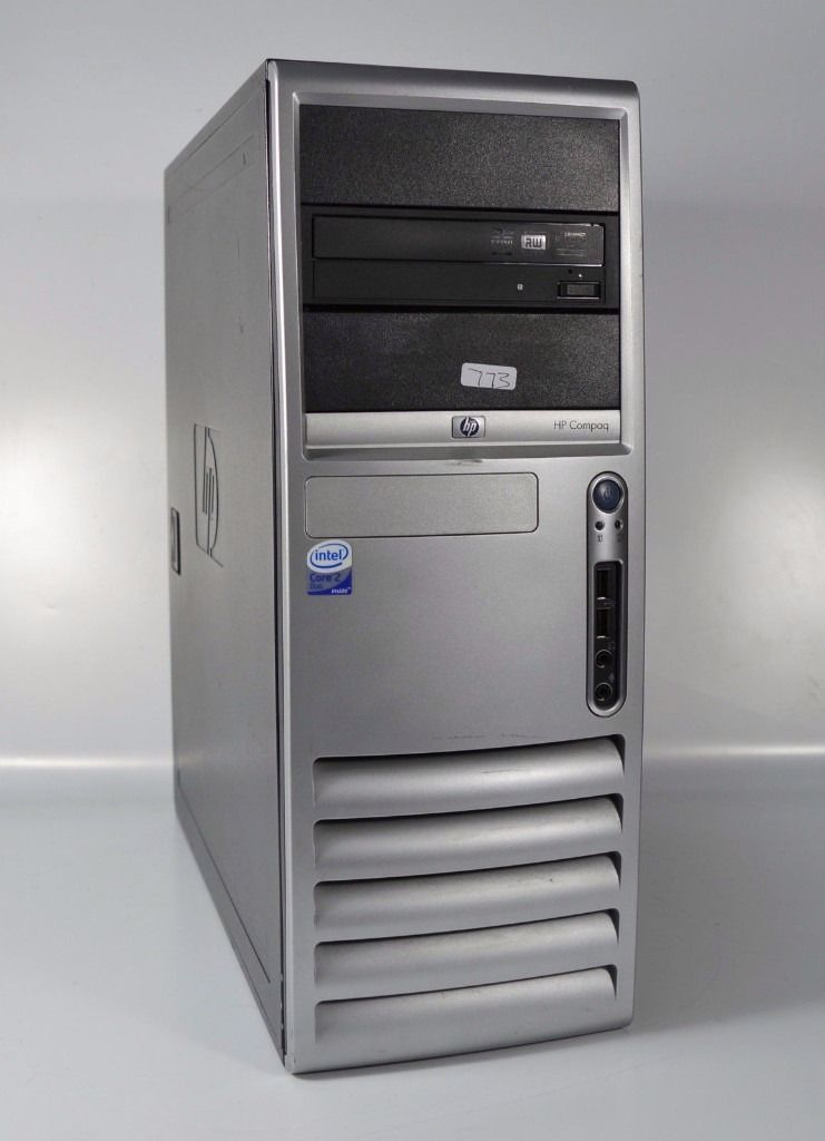 HP COMPAQ DC7700 DESKTOP PC WINDOWS 7 | DUAL CORE 2.13GHZ | 4GB RAM | 250GB