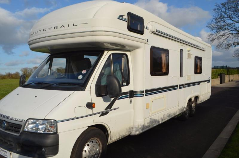 2006 Autotrail Cheyenne 840SE 6 Berth Motorhome For Sale