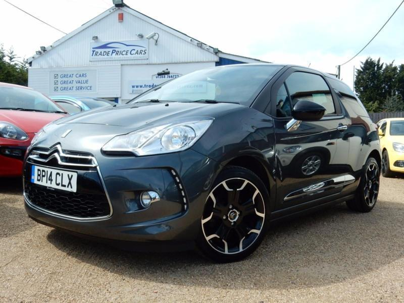 2014 14 Citroen DS3 1.6e-HDi ( 90bhp ) Airdream DStyle Plus