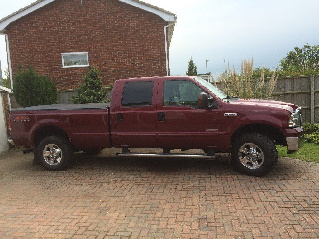 American (LHD) Ford F350 Super Duty Lariat Supercab 6ltr V8 Turbo Diesel Automatic Pick-up 4x4 Truck