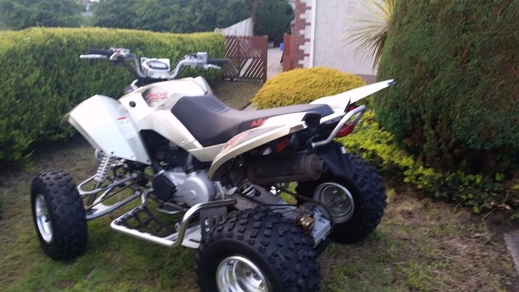 400cc Road legal apache quad